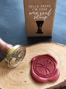 Gingko Wax Seal Stamp