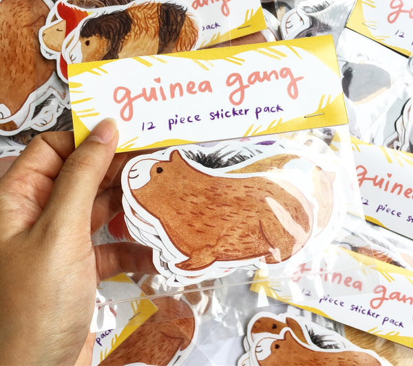 Guinea Gang Sticker Pack