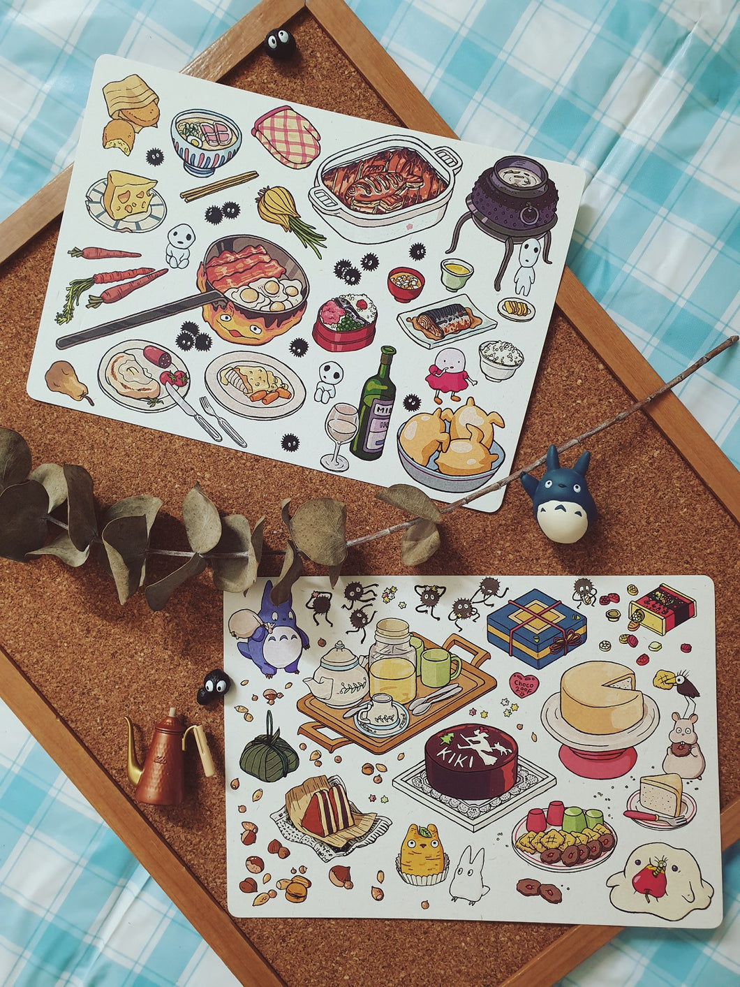 Max Loh: Ghibli Food Prints Set