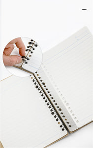Campus Smart Ring Binder Refillable Notebook / Ruled