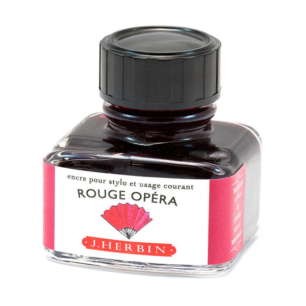 J.Herbin Fountain Pen Ink 30ml - Rouge Opera
