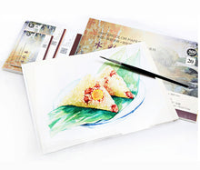 Load image into Gallery viewer, Baohong Watercolor Gummed Paper Pad 300GSM