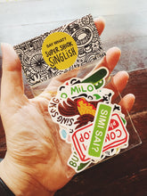 Load image into Gallery viewer, Say What? | Singlish Sticker Pack B