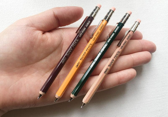 OHTO Sharp Mini Mechanical Pencil with Eraser 0.5mm