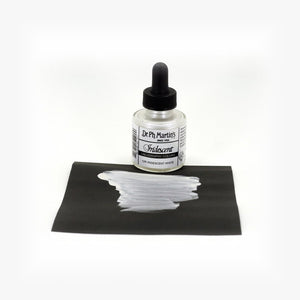 DR. PH. MARTIN'S Iridescent Calligraphy Ink // White