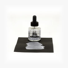 Load image into Gallery viewer, DR. PH.MARTIN'S Iridescent Calligraphy Ink // Silver