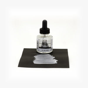 DR. PH.MARTIN'S Iridescent Calligraphy Ink // Silver
