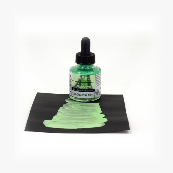DR. PH. MARTIN'S Iridescent Calligraphy Ink // Crystal Mint