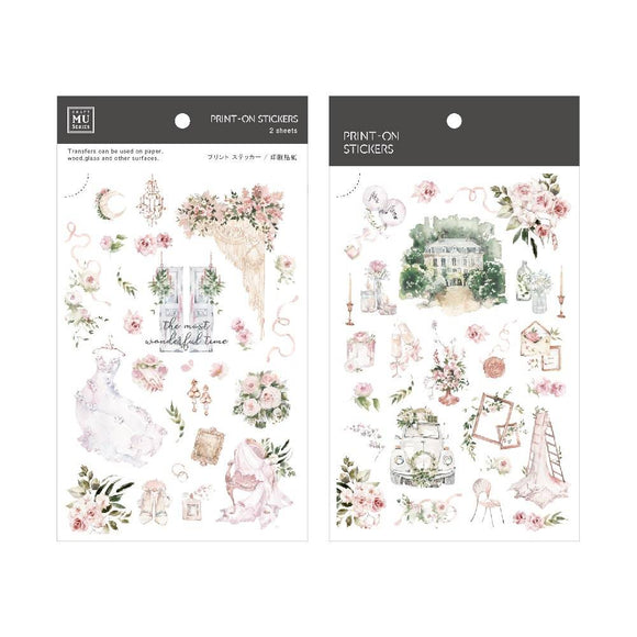 [NEW] Mu Craft Print-On Sticker // Dream Garden