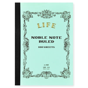 LIFE Noble A5 Notebook // Ruled