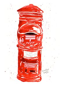 Japan Post (Traditional) Mailbox