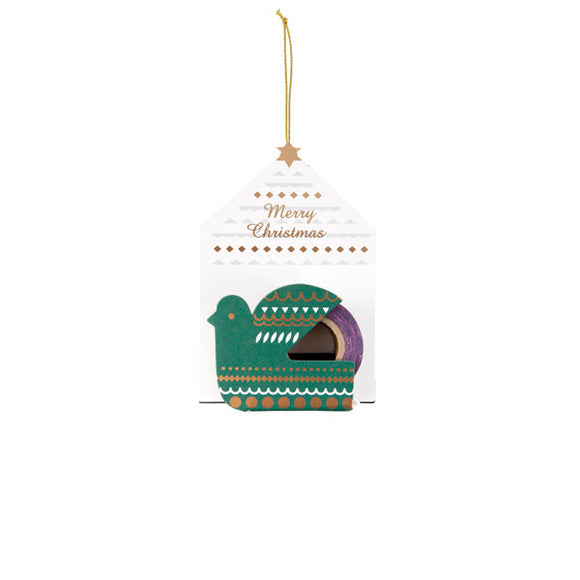 Mark's Masking Tape Ornament /Bird