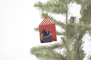 Mark's Masking Tape Ornament / Squirrel