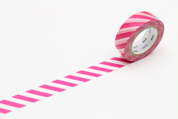 MT01D372 Stripe Magenta
