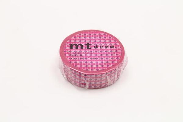 MT01D408 Dot Stripe Pink