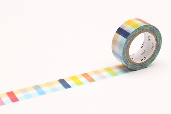 MTDSPR03 mt Fab Plaid double-sided tape