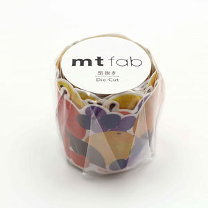MTKT1P14 MT Fab Washi Tape Fruits