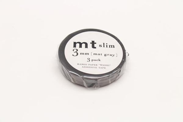MTSLIMS13 3mm Matte Grey