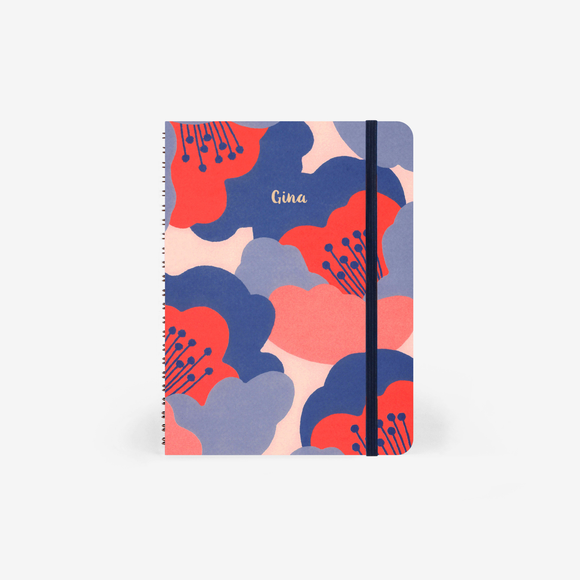 Mossery A5 Hardcover Notebook // Camellia