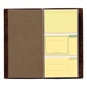 TRAVELER'S Notebook 022 Sticky Note Insert // Regular  - Stickerrific