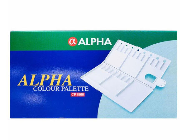 Alpha Water Colour Palette