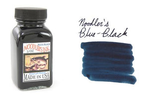 Noodler's Fountain Pen Ink // Blue Black (Partially Bulletproof)