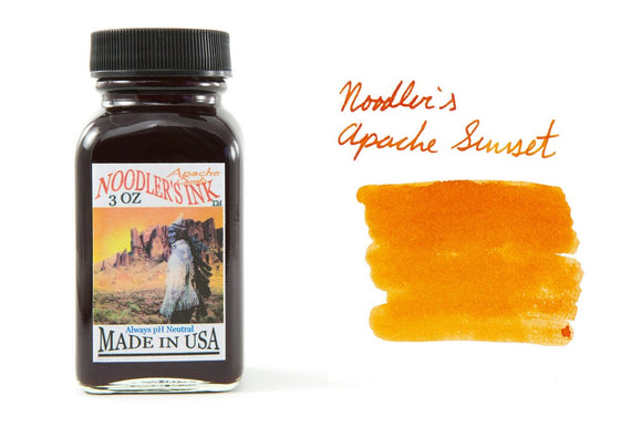 Noodler's Fountain Pen Ink // Apache Sunset