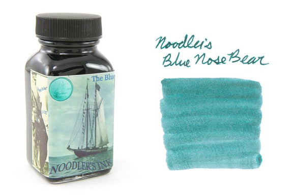 Noodler's Fountain Pen Ink // Blue Nose Bear