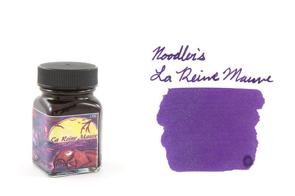 Noodler's Fountain Pen Ink // La Reine Mauve (Bulletproof)