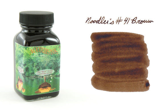 Noodler's Fountain Pen Ink // #41 Brown (Bulletproof)