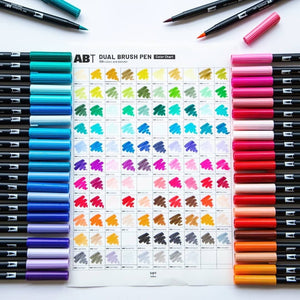 Tombow ABT Brush Pen (List 5/6: 991 - N95)