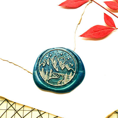 Wooden Wax Seal | Valley