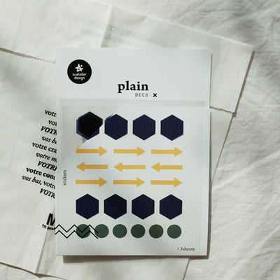 Suatelier Plain 23 Sticker Sheet