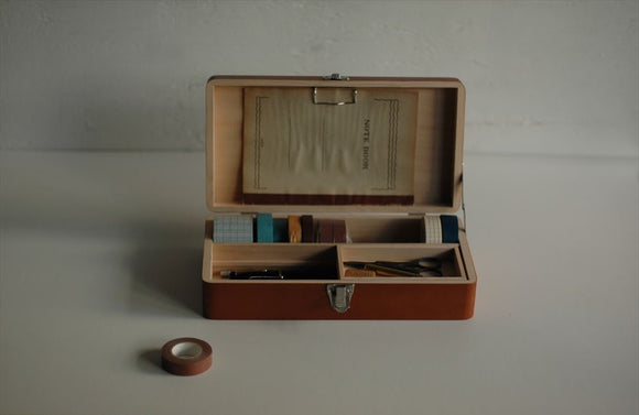 Classiky Wooden Desk Tool Box