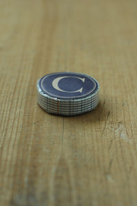 Classiky Blue Grid Washi Tape (C)
