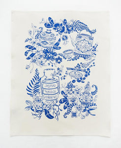 Bingka Tea Towel | Porcelain