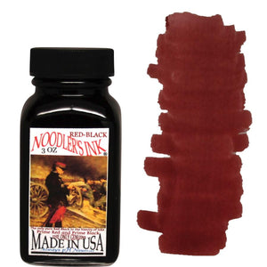 Noodler's Fountain Pen Ink // Red-Black (Partially Bulletproof)