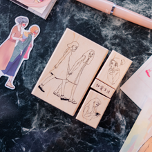 Load image into Gallery viewer, La Dolce Vita Rubber Stamp Set