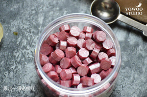 Wax Beads for Wax Sealing / Cherry Pink