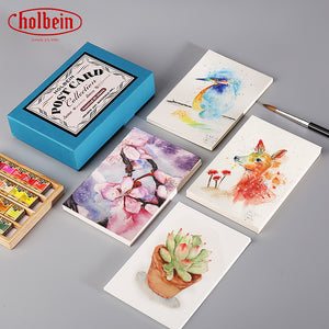 Holbein Watercolor Postcard Collection