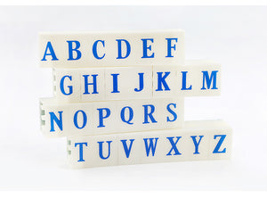 HIPPO Alphabet Set & Figure Stamp Set