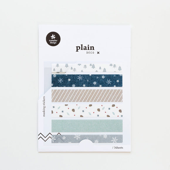 Suatelier Plain 11 Sticker Sheet