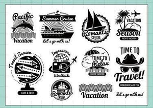 moodtape Travel III Clear Stamp Set