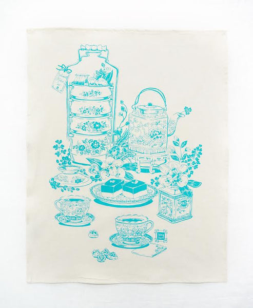 Bingka Tea Towel | Tea Time
