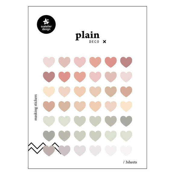Suatelier Plain 52 Sticker Sheet