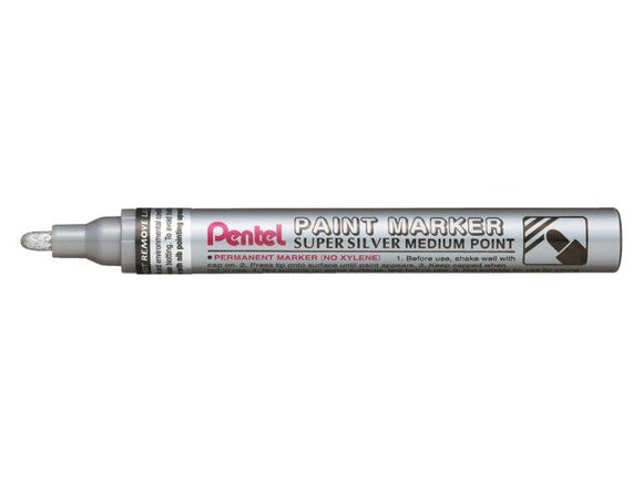 Pentel Metallic Silver Paint Marker // Medium