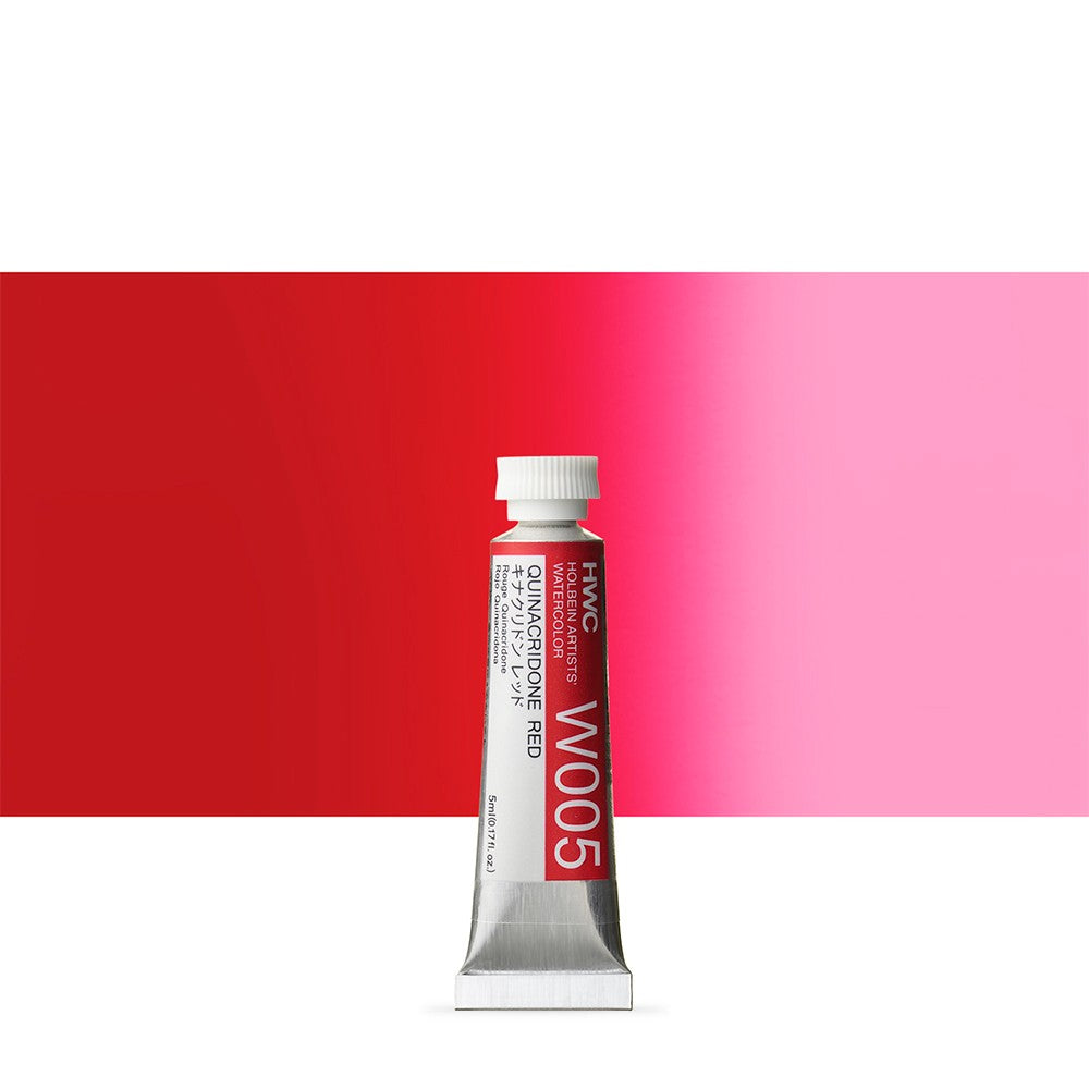 Holbein Artist's Watercolor 5ml Tube // Red