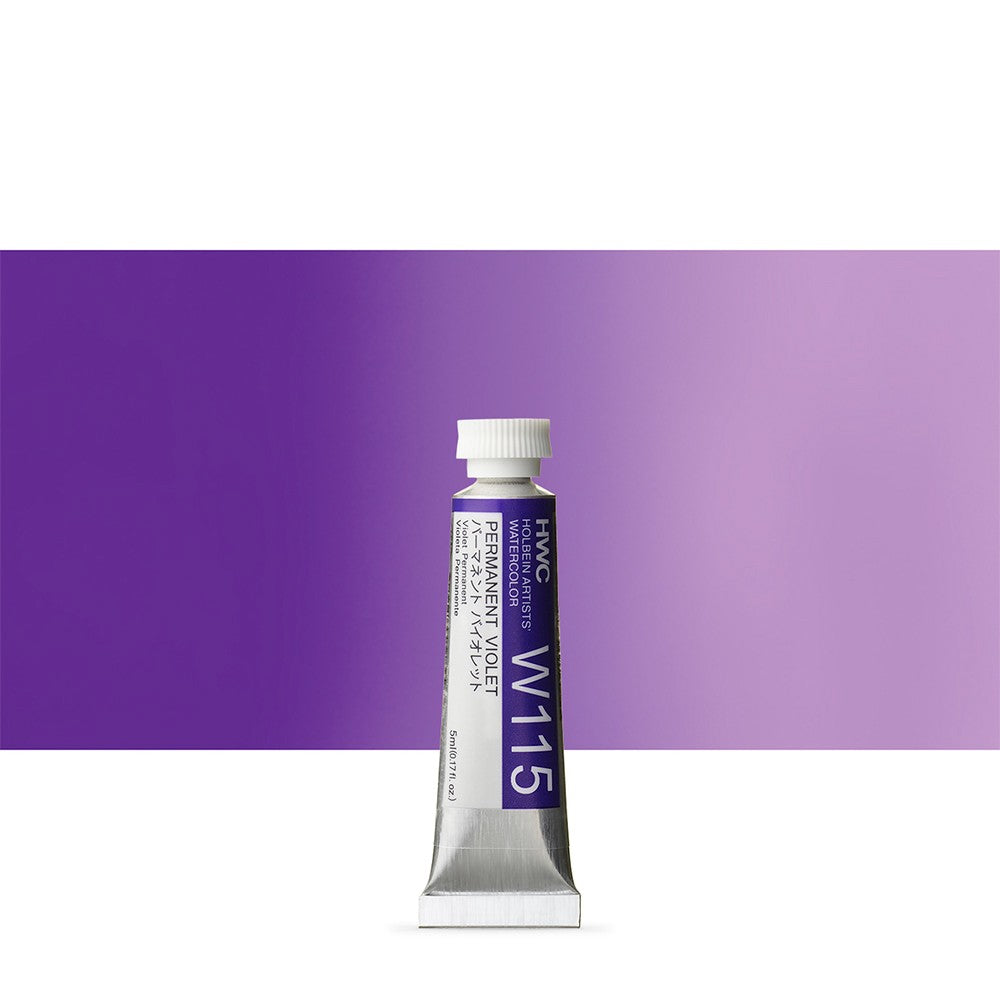 Holbein Artist's Watercolor 5ml Tube // Violet
