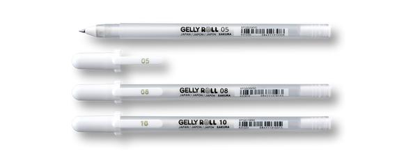 Sakura Gelly Roll White