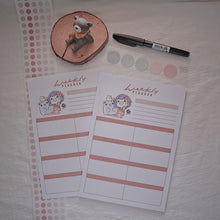 Load image into Gallery viewer, Ink Diary A5 Weekly Planner